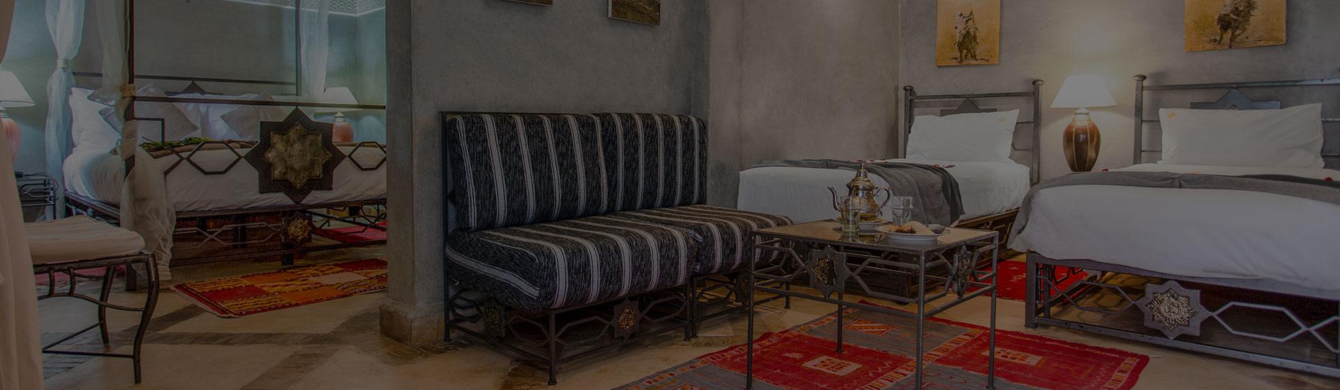 Chambre Riad Perle