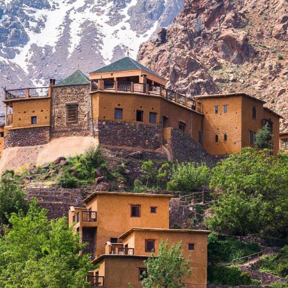 Imlil, excursion au Maroc